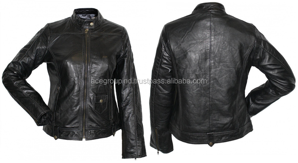 Name brand leather jackets