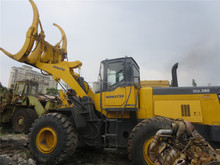 Used wheel loader Komatsu WA380-3 in China for sale, loader with grapper