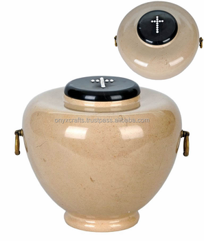 Verona Marble Funeral Urns in Wholesale Exports price.