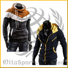 2015 Men Hoodies Fashion Men's Slim Fit Sexy Top Designed Hoodies Jackets Coats hot