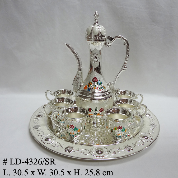 luxury metal wine set (LD-4326/SR)