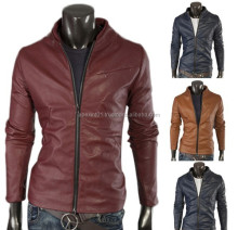Factory direct clothing men's coat wholesale leather jacket for men-Men leather jackets