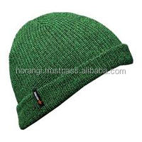 Green Wool Men Hat/Beanie