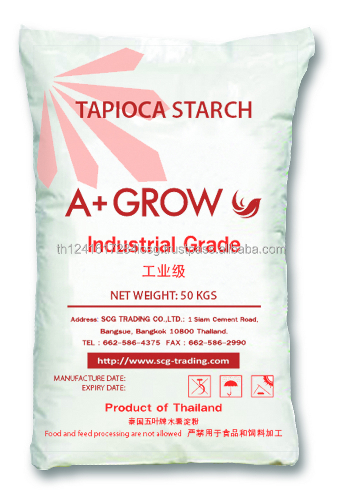 High Quality & Cheap Price for Sale Tapioca Cassava Starch for Industrial from Thailand
