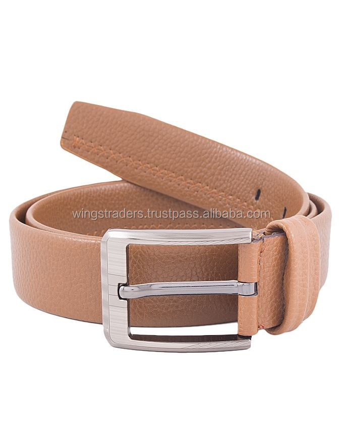 Light Brown Leather Belts, Custom Your Own Design Leather Belt , Unisex Leather Belt