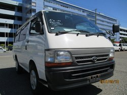 Exellent condition used toyota hiace van manual diesel at reasonable prices