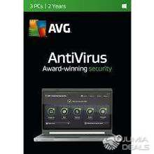 AVG ANTIVIRUS 2YRS/FOR 3 PERSONAL COMPUTERS