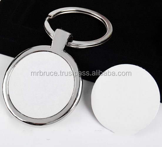 Metal Key Chain Sublimation blank metal keychains