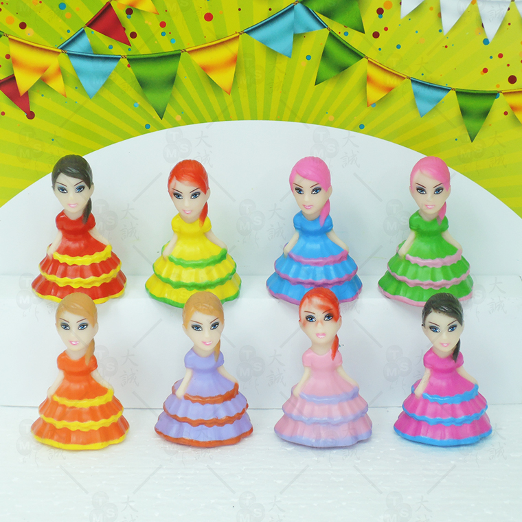 Cake Decoration Cake Dress Doll 8pcs
