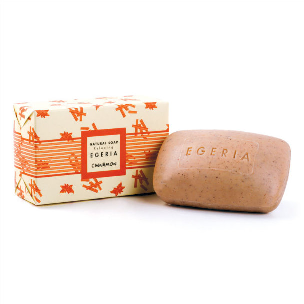 100 gr Egeria Soap with Cinnamon Extract