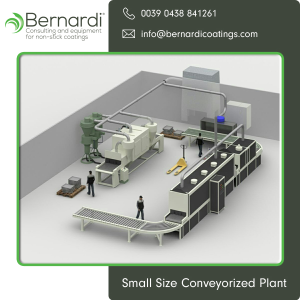 Small Size Conveyorized Ceramic Coating Plant at Competitive Price