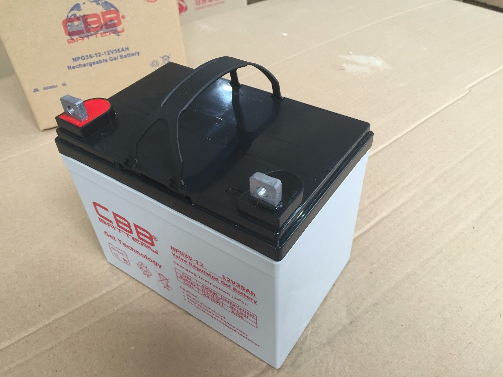 12V 35Ah Gel Battery For Wheelchair