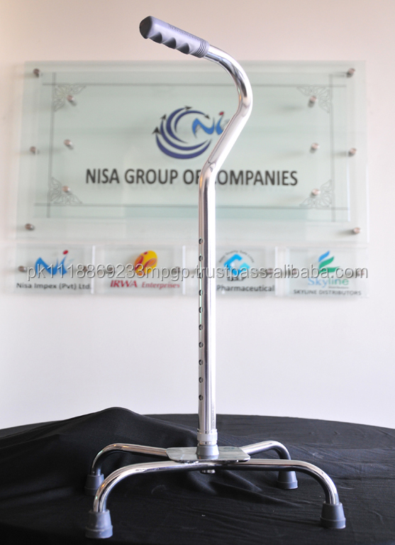 Nisa Tripod-Round,walking stick,made of Aluminum