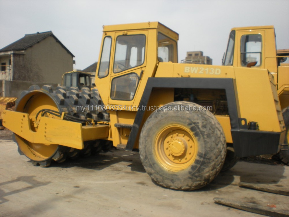 Original BOMAG BW 213D road roller with padfeet/ Bomag Compactors