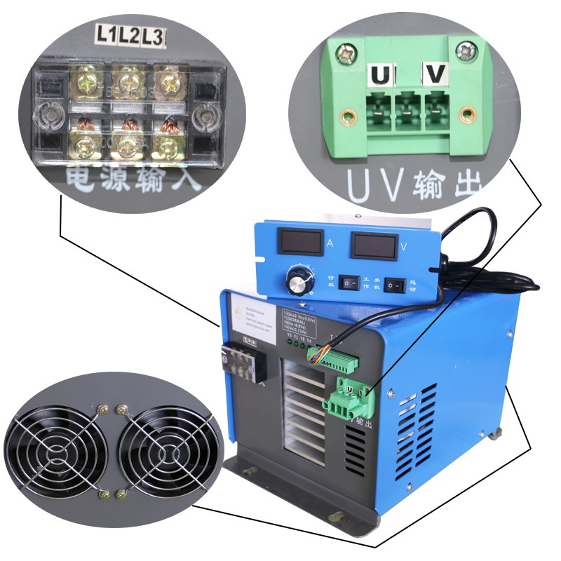 Stepless output adjustment uv electronic ballast for uv lamp