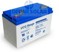 12V 100Ah Solar Gel Battery- SOLi