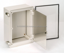 IP66 plastic dual door control box