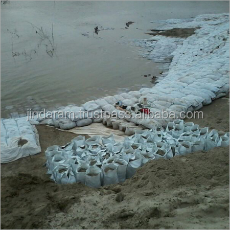 PET long fiber geotextile geo bags