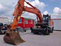 USED MACHINERIES - HITACHI ZX 210 W WHEEL EXCAVATOR (4689)