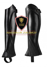 Burnish Leather Half chaps&Gaiters / Horse Riding Geniun Leather Half Chaps / Horse Riding Unique Design Leather Mini chaps