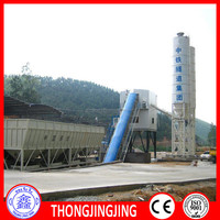 Branded HZS60 60m3/h concrete batching plant for sale
