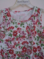 Hojari good looking sleeveless top's & t-shirts for girls wear / Screen printed design pattern top's