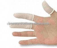 Malaysia hot selling antistatic latex rubber white finger cot