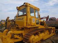 Used Caterpillar D6D bulldozer for sale in Shanghai China, used construction machines