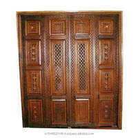 Teak Wood pooja room Door