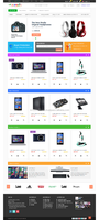 Electronic Products Eccomerce Website Design