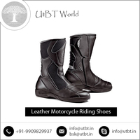 Anti Static Genuine Leather Riding Boots