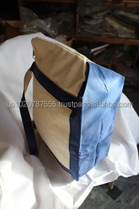 Natural Cotton Canvas Tote Bag with handles
