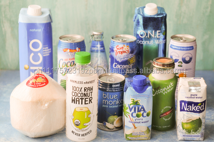 100% organic pure coconut water