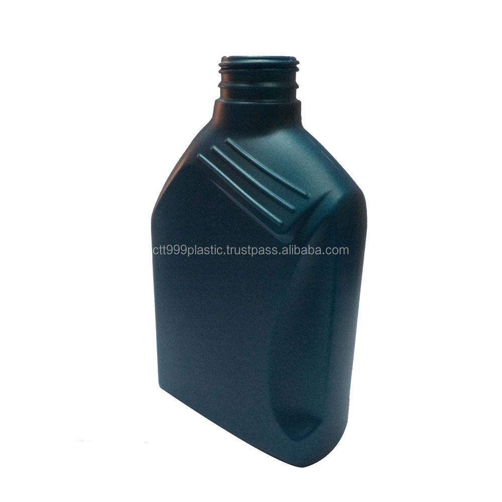 1L high quality HDPE, PP lubricant engine oil plastic bottle