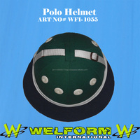 polo helmet made of fibber glass best qulity