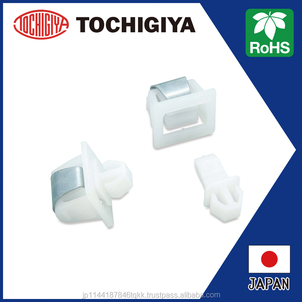 TL-165 Holding Catch White Roller Catch RoHS2 RoHS10 Japan version 2D 3D data High Quality POM