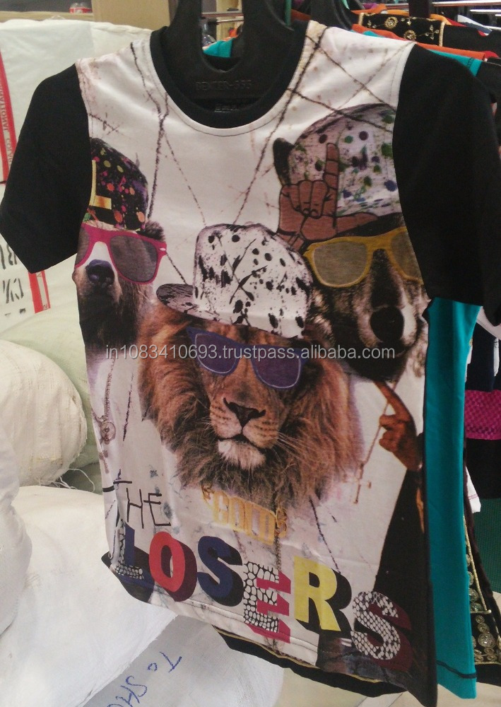 High Quality Modal and cotton Blank Cotton Sublimation Shirt Combed Cotton Jersey T-shirt
