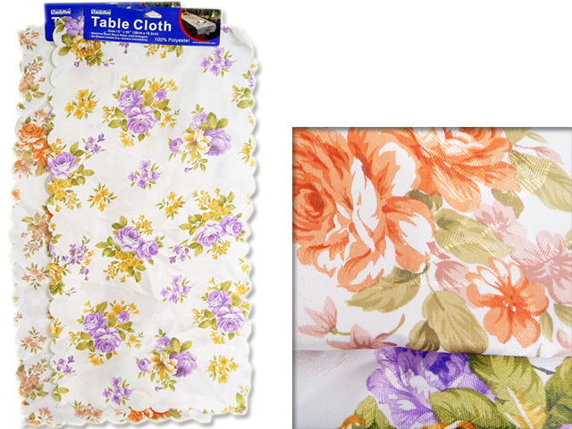 "TABLE COVER 15X30""ASST COLOR 38X76CM, #37168"