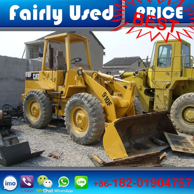 Good condition used CAT 910F wheel loader,CAT wheel loader 910F