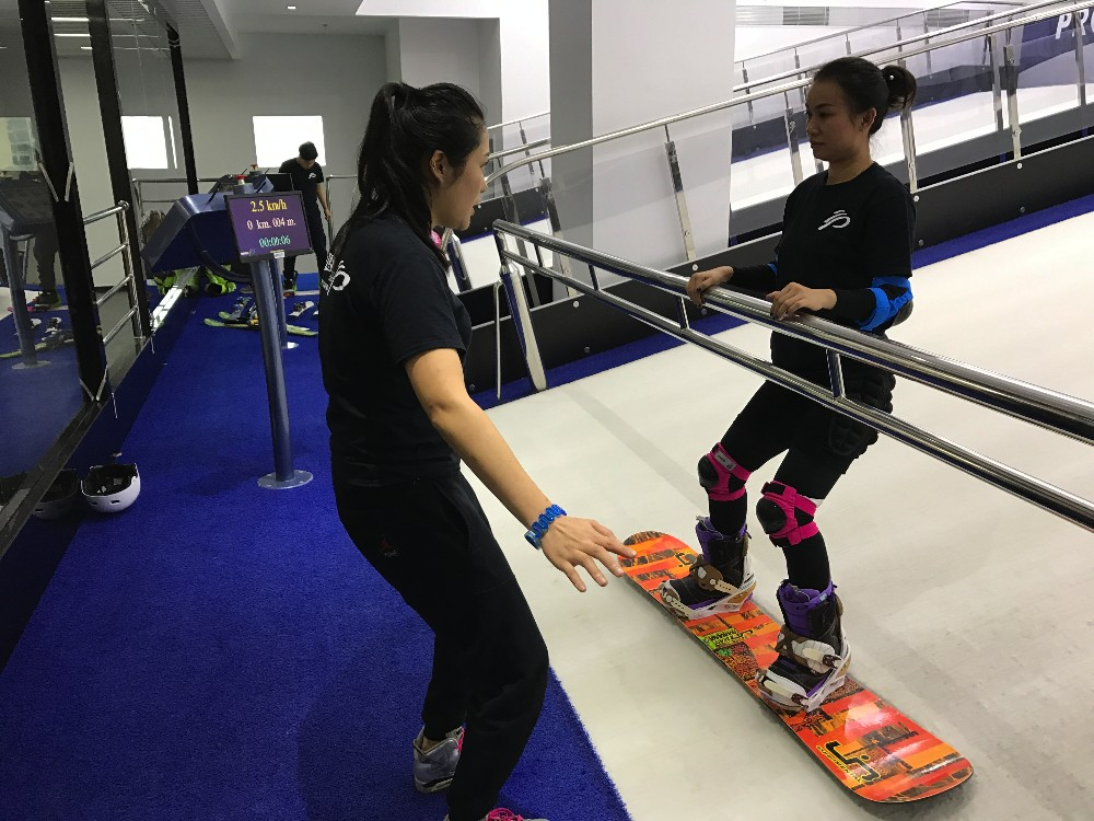 Buy in Hong Kong Endless dry slopes Proleski indoor snowboarding simulator Skiing & snowboard on dry slopes Fun winter sports