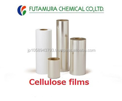 High quality and High performance PVDC coated film cellulose film with multiple functions made in Japan