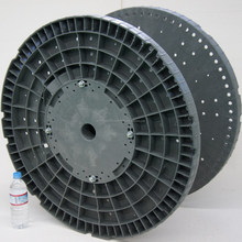 Accurate cable drum for plastic wire drawing machine coil made in Japan