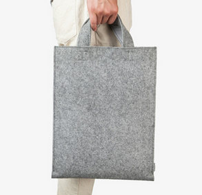 BSCI Felt Laptop Bag with Money Pocket