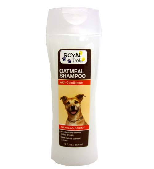 Royal Pet Shampoo Oatmeal 12oz
