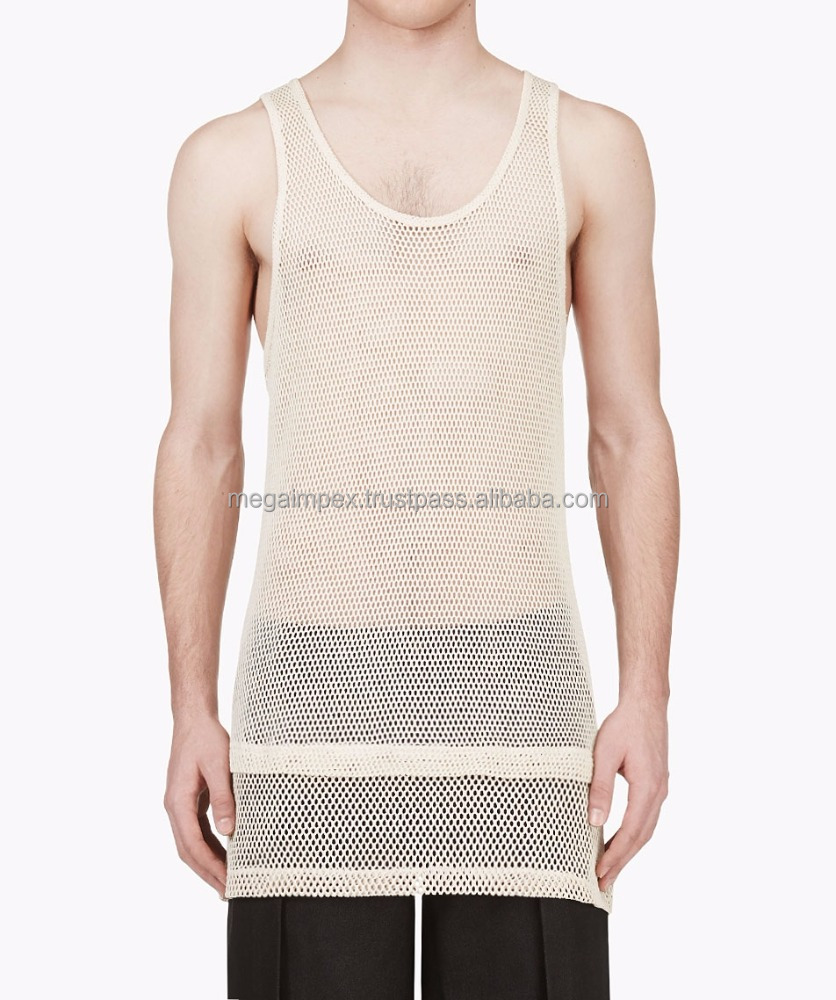 Manufactur Bodybuilding Men's Tank Top Gym Tank Stringer Tank Top