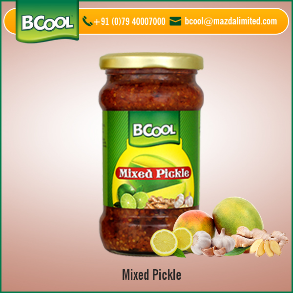 Affordable Price Natural Flavour Mixed Vegetable Mango Pickle from Reputed Seller