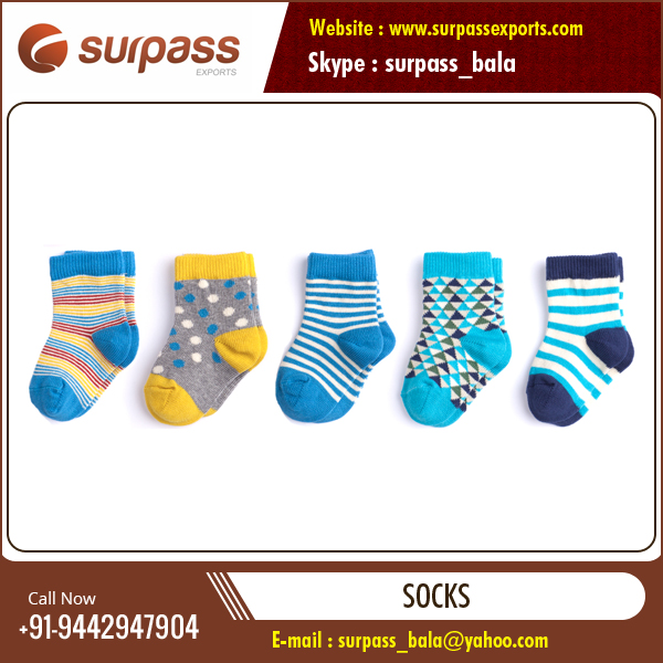 High Quality Colorful Baby Socks at Wholesale Price