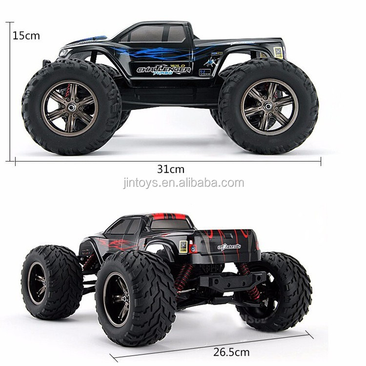 9115 2.4G 1:12 Scale 40KM+ RC RTR Brushed Monster Truck 4WD RC Car,Off-road Car
