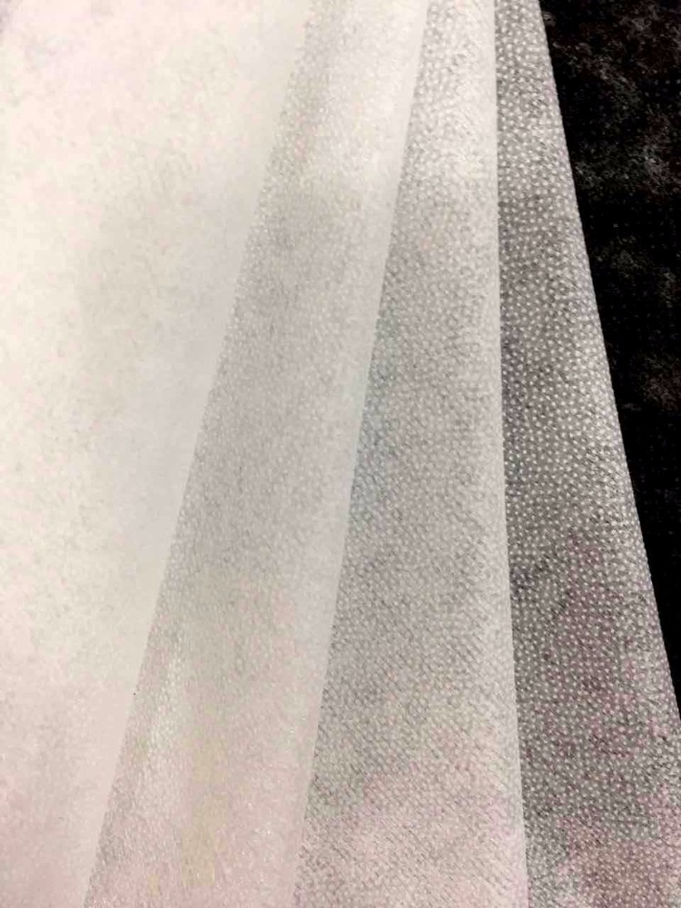 Polyester Microdot Fusible Interlining Non Woven Fabric