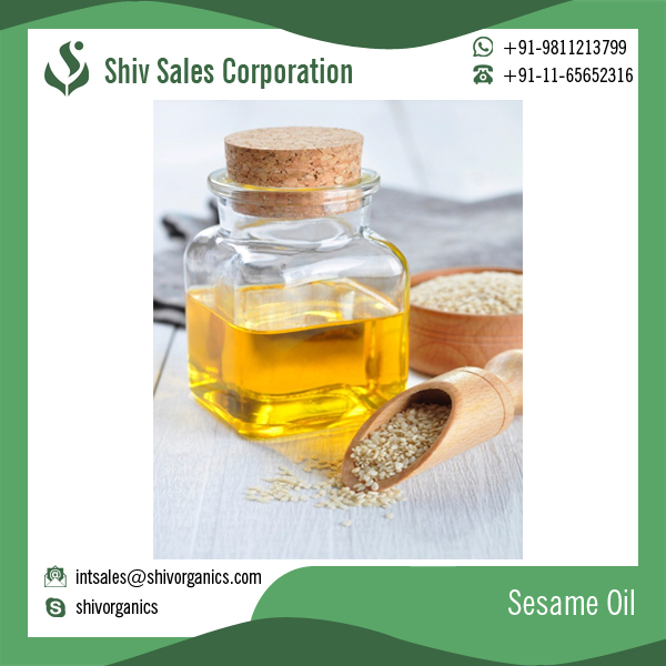 Organic Top Brand Sesame Seed Oil at Best Price